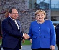 فيديو| وصول الرئيس السيسي إلى مقر المستشارية الألمانية