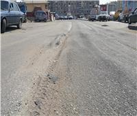 بدء أعمال رصف طريق السويس – الإسماعيلية