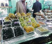 صور|  فراخ وأسماك وخضروات وفواكه .. وجبات نزلاء سجن برج العرب