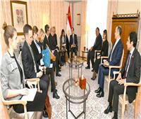 «السيسي» يشيد بالمستوى المتميز للعلاقات بين مصر وألمانيا