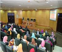 رئيس  جامعة سوهاج يشهد فاعليات الجلسة الثالثة للمنتدى العلمي الثقافي