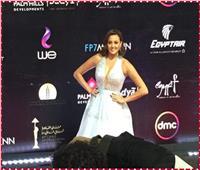 صور| بشرى تتألق في حفل افتتاح مهرجان القاهرة السينمائي
