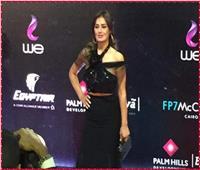 صور| إطلالة جذابة لـ«حلا شيحة» في افتتاح مهرجان القاهرة السينمائي