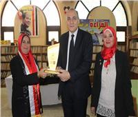 بعد حصدها لقب المشرف المتميز.. «تعليم القاهرة» تكرم «أميرة المكتبات»