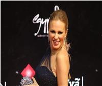 صور I شيرين رضا بإطلالة جذابة في افتتاح مهرجان القاهرة السينمائي