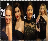صور| «الأسود» يسيطر على إطلالات نجمات مهرجان القاهرة السينمائي