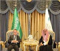 صور| النائب العام  يزور نظيره السعودي ويتفقد السجون بالرياض