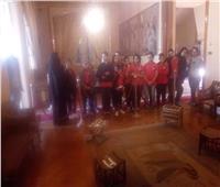 أنشطة ترفيهية للطلاب بمتحف «ركن حلوان»