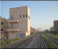 صور| دخول برج بني مزار للسكة الحديد الخدمة ضمن «تطوير الإشارات»
