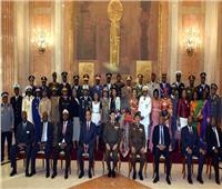 القوات المسلحة تحتفل بتخريج 5 دورات للوافدين من 29 دولة إفريقية