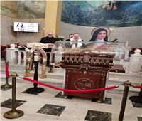 الكنيسة المارونية بمصر الجديدة تستقبل رفات القديسة تريزا