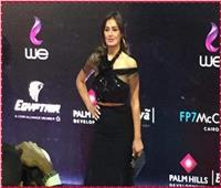 فيديو| إطلالة جذابة لـ«حلا شيحة» في افتتاح مهرجان القاهرة السينمائي