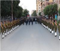محافظ سوهاج يتقدم الجنازة العسكرية للعميد خالد الشريف