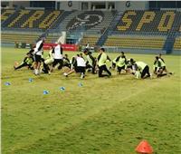 صور| منتخب مصر الأولمبي يختتم تدريباته استعدادا لمواجهة كوت ديفوار
