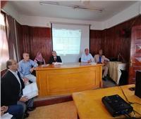 اجتماع لمديرية الصحة بالقليوبية لتطبيق الميكنة وإنشاء قاعدة بيانات