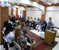 فعاليات اجتماع أسرة القديس يوسف بكنيسة قبة الهواء