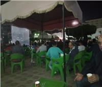 نادي «بنها» يوفر شاشات لمتابعة مباراة النهائية لمصر وكوت ايفور.. صور