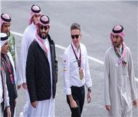 الأمير «محمد بن سلمان» يحضر منافسات «فورمولا إي» للسيارات الكهربائية