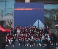 جامعة نيو جيزة: سفر أول مجموعة طلابية للدراسة في انجلترا