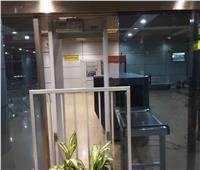 صور| بوابة تفتيش جديدة بصالة 2 في المطار القديم لمنع التكدس