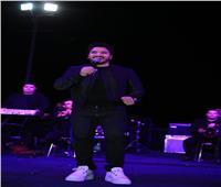 صور| مصطفى حجاج يشعل حفل معرض الطفل