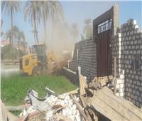 صور  «الزراعة» تواصل التصدي للبناء على الأراضي وإزالة 61 حالة بقنا
