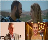 محمود حميدة وشيرين رضا في العرض العالمي الأول لفيلم «من أجل القضية»