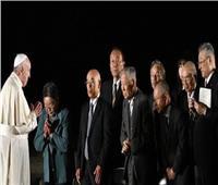 البابا فرنسيس في لقاء «من أجل السلام» بهيروشيما