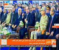 فيديو| السيسي للمصريين: «عشان مستقبل مصر لازم نتعب ونشقى»