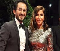 منى زكي تظهر بإطلالة جديدة مع أحمد حلمي