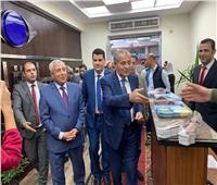 وزير التموين يفتتح هايبر ماركت بمنطقة دراو بأسوان