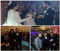 أحمد بتشان يُحيى زفاف المنتج محمود سويلم