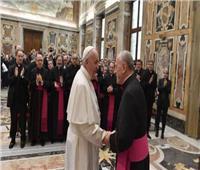 «بابا الفاتيكان» يستقبل المشاركين في دورة تنظمها «محكمة الروتا الرومانية»