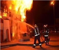 التحريات: «ماس كهربائي» وراء حريق عقار حلوان وتهشم سيارة
