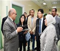 بحث سبل التعاون بين جامعة القناة والسفارة الصينية