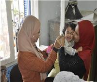 صور| علاج 486 حالة بقرية الوصفية بالإسماعيلية ضمن قافلة «جامعة القناة»