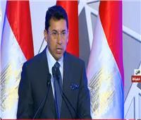 فيديو| وزير الشباب: 1.2 مليون مواطن استفادوا من مشروعات الرياضة بدمياط