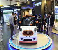 الإنتاج الحربي تعرض السيارة الكهربائية بمعرض «Cairo ICT»