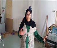صاحبة ورشة بدمياط: مقابلة الرئيس وسام على صدري
