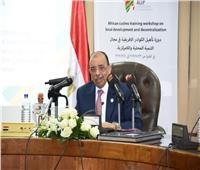 وزير التنمية المحلية: الرئيس أعطى دفعة كبيرة لدور مصر في القارة الأفريقية