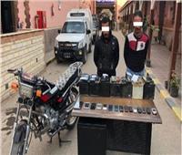 ضبط تشكيل عصابي تخصص في سرقة «بطاريات السيارات» في الاسماعيلية