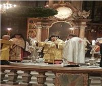 «العبسي» يترأس صلاة القداس الأول في كاتدرائية سان استيفان بالنمسا