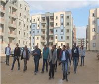 المجتمعات العمرانية الجديدة تتابع المشروعات الجاري تنفيذها بمدينة السادات