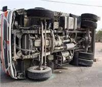 مصرع 3 وإصابة 6 آخرين فى حادث سير أمام قرية الجعافرة بأسوان