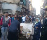 صور| شرطة مرافق ومرور الجيزة تواصل رفع الإشغالات وضبط المخالفين