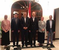 حفل عشاء على شرف وزير القوى العاملة بمنزل السفير المصري لدى كوت ديفوار