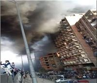 مرور القليوبية يواصل إزالة آثار حريق سيارة البترول بالخصوص