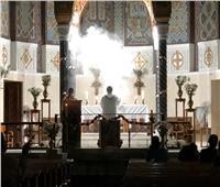 «بازيليك سانت تريزا» بشبرا تقيم ساعة سجود عشية تقديم 3 رهبان لنذورهم