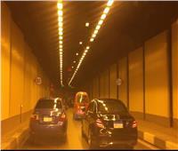 حريق سيارة بنفق الأزهر.. و«مرور القاهرة» تدفع بـ6 أوناش إغاثة