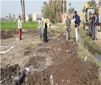 محافظ سوهاج:إزالات فورية لـ9 حالة تعد وبناء مخالف